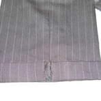 ズボン裾口のカギ裂き