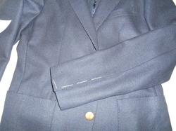 スーツ袖口(本セッパ)のお直し