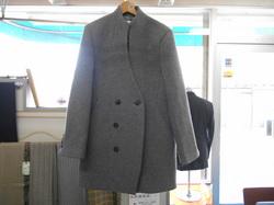 紳士オーバーコートのお直し