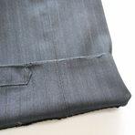 スーツズボンの裾口修理