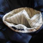 袖ぐりの裏地擦り切れ修理