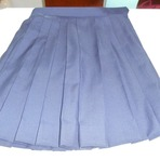 学生スカートのお直し