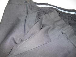 スーツパンツのファスナー取替え