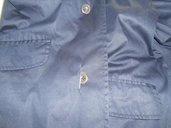 コートのお直しコート