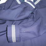 セーラー服袖丈直し